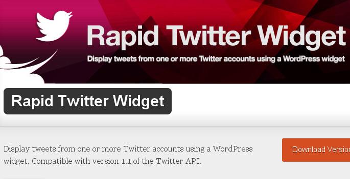 Collection Of Excellent WordPress Twitter Plugins & Widgets 16
