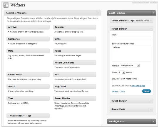 Collection Of Excellent WordPress Twitter Plugins & Widgets 20