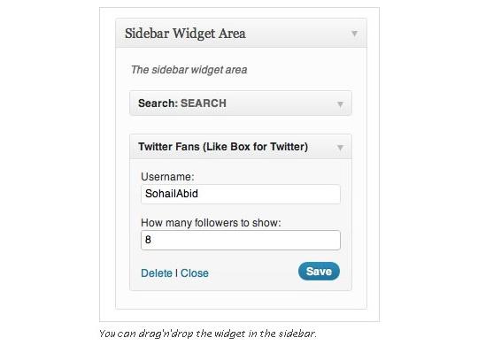 Collection Of Excellent WordPress Twitter Plugins & Widgets 3