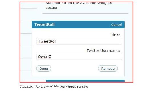 Collection Of Excellent WordPress Twitter Plugins & Widgets 26