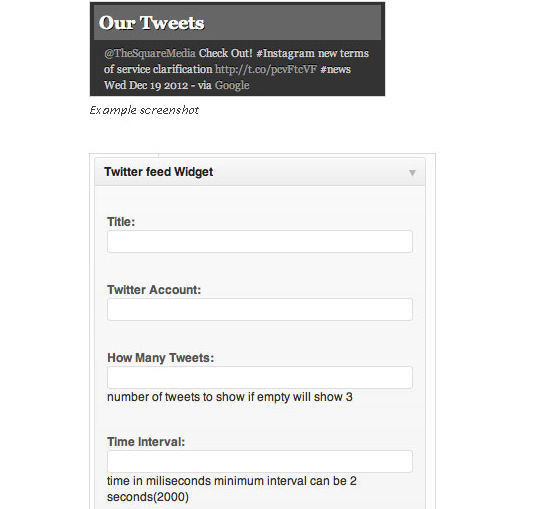 Collection Of Excellent WordPress Twitter Plugins & Widgets 31