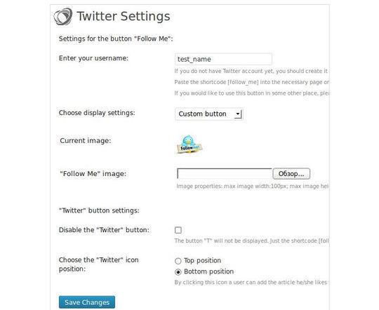 Collection Of Excellent WordPress Twitter Plugins & Widgets 33