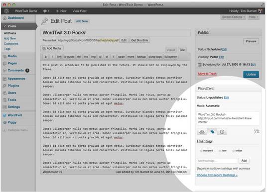 Collection Of Excellent WordPress Twitter Plugins & Widgets 10