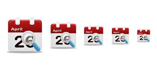 45 Stunning Calendar Icon Sets For Free Download 24