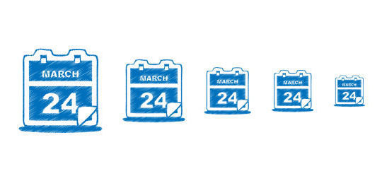 45 Stunning Calendar Icon Sets For Free Download 30