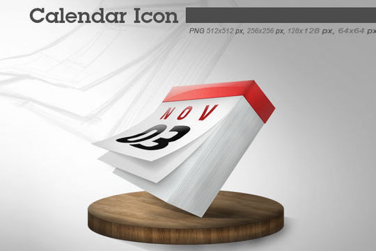 45 Stunning Calendar Icon Sets For Free Download 38