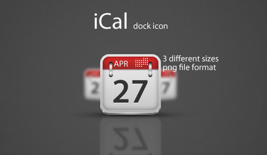 45 Stunning Calendar Icon Sets For Free Download 4