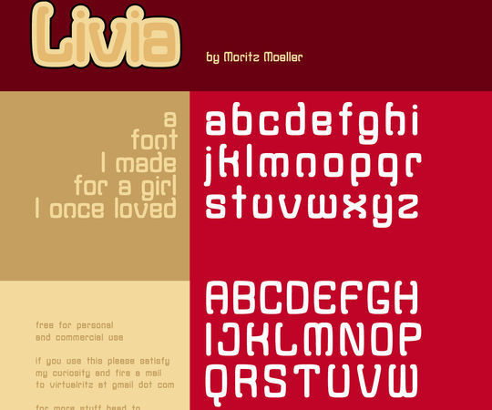 45 Fresh And Free Fonts For Creative Designers 30