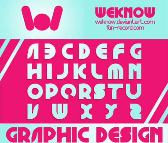 45 Fresh And Free Fonts For Creative Designers 32