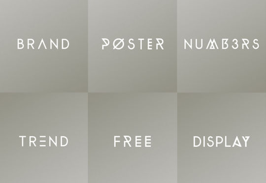 45 Fresh And Free Fonts For Creative Designers 35