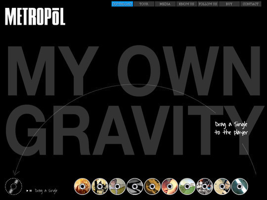 Showcase of Innovative And Creative HTML5 Sites 7