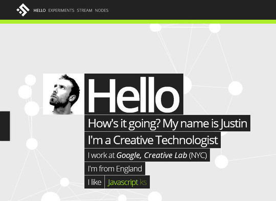 Showcase of Innovative And Creative HTML5 Sites 24