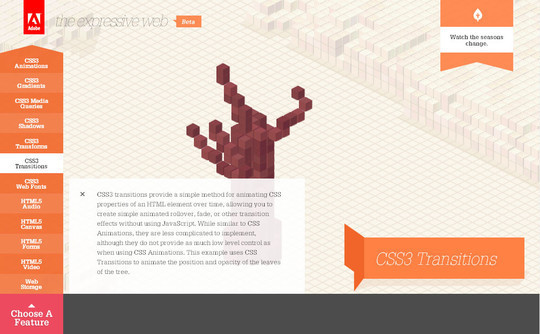 Showcase of Innovative And Creative HTML5 Sites 26