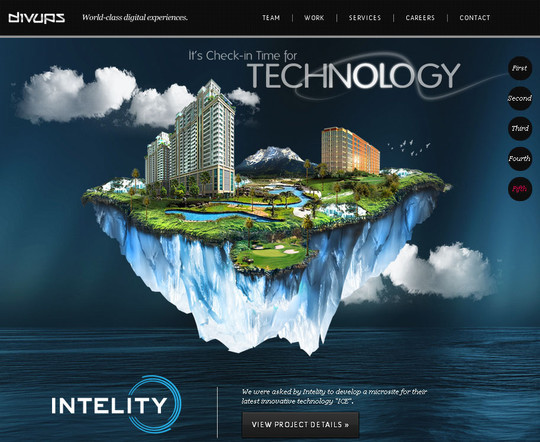 Showcase of Innovative And Creative HTML5 Sites 30