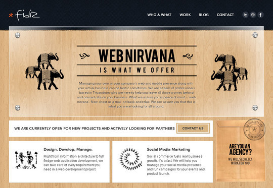Showcase of Innovative And Creative HTML5 Sites 34