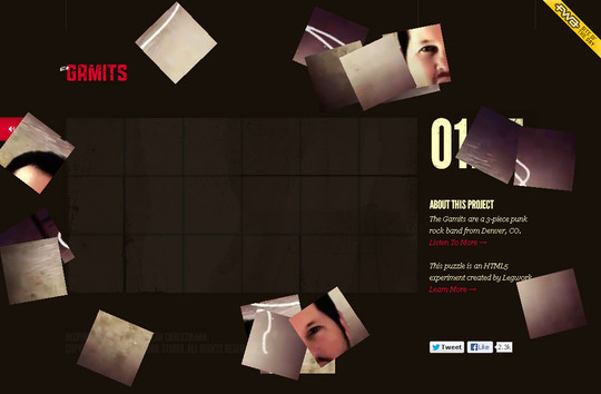 Showcase of Innovative And Creative HTML5 Sites 11