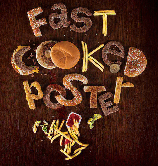 45+ Yummy And Delicious Food Typography Designs 2