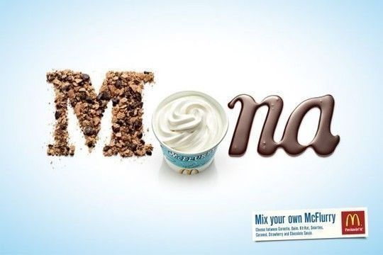 45+ Yummy And Delicious Food Typography Designs 34