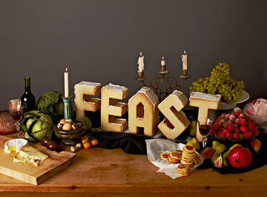 45+ Yummy And Delicious Food Typography Designs 18