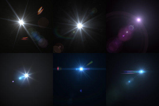 17 High Quality Lens Flare Textures 4