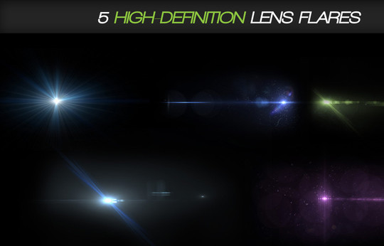 17 High Quality Lens Flare Textures 12