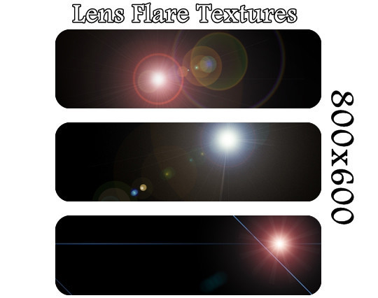 17 High Quality Lens Flare Textures 14
