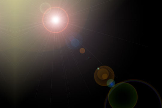 17 High Quality Lens Flare Textures 8