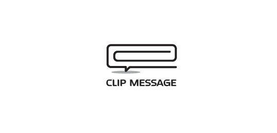 23 Creative Paper Clip Logo Designs 23