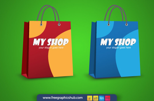 15 Shopping Vector Graphics For Designers 4