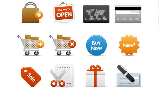 15 Shopping Vector Graphics For Designers 14