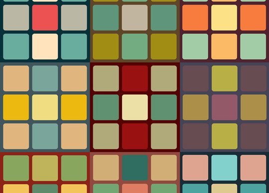 40 Amazingly Creative Square Patterns For Free Download 27