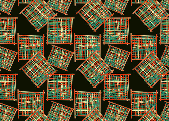 40 Amazingly Creative Square Patterns For Free Download 16