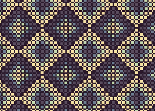 40 Amazingly Creative Square Patterns For Free Download 20