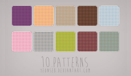 40 Amazingly Creative Square Patterns For Free Download 31