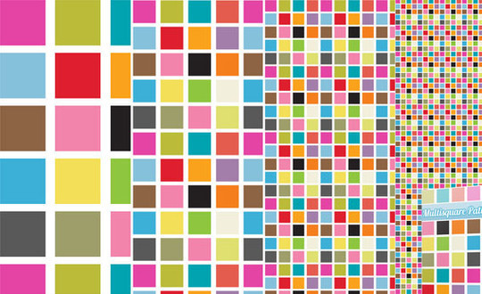 40 Amazingly Creative Square Patterns For Free Download 23