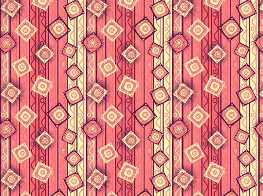 40 Amazingly Creative Square Patterns For Free Download 3