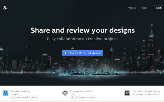 17 Most Effective Examples Of Startup Landing Pages 4
