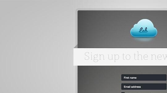 40 Wonderfully Designed Newsletter Subscription Form Photoshop Files 37