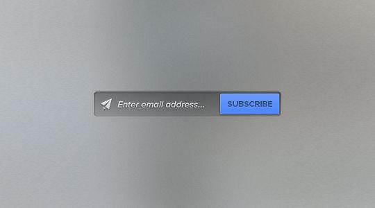 40 Wonderfully Designed Newsletter Subscription Form Photoshop Files 10