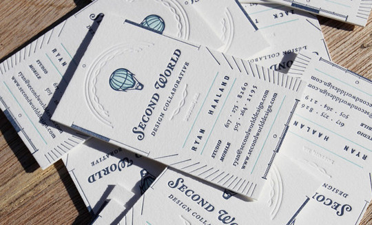 44 More Clean And White Business Cards For Your Inspiration 22