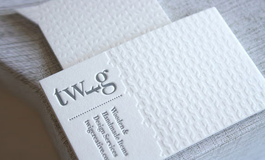 44 More Clean And White Business Cards For Your Inspiration 4