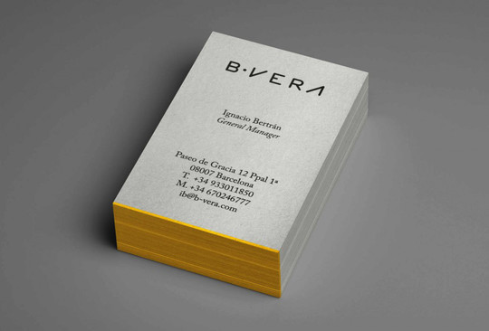 44 More Clean And White Business Cards For Your Inspiration 25