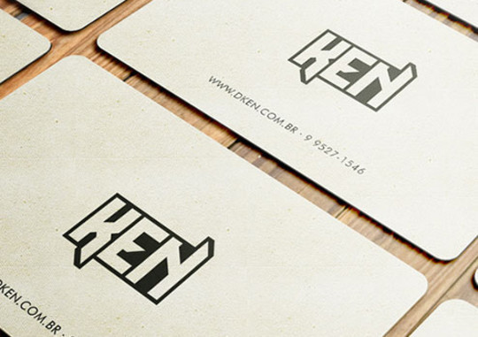 44 More Clean And White Business Cards For Your Inspiration 28