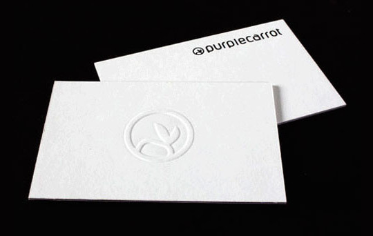 44 More Clean And White Business Cards For Your Inspiration 9