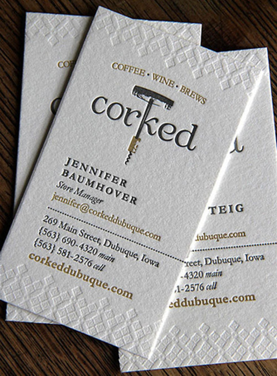 44 More Clean And White Business Cards For Your Inspiration 15