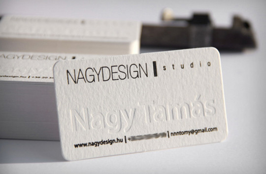44 More Clean And White Business Cards For Your Inspiration 35