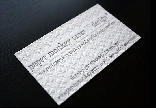 44 More Clean And White Business Cards For Your Inspiration 38