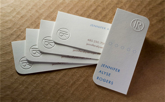 44 More Clean And White Business Cards For Your Inspiration 29