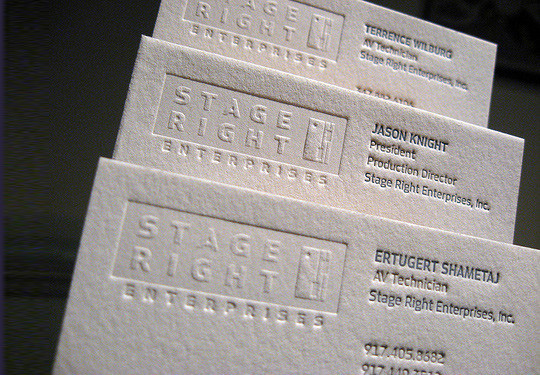 44 More Clean And White Business Cards For Your Inspiration 27