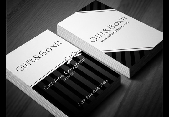 44 More Clean And White Business Cards For Your Inspiration 44